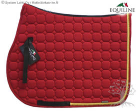 Equiline Estesatulahuopa Octagon N Red - EQUILINE Satulahuovat - B01010-030 - 1