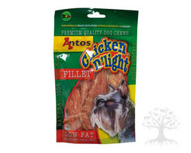 Antos Chicken D'light Fillet 100g Kanafileet - Kuivalihaherkut - 686.2181 - 4