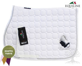 Equiline Estesatulahuopa Octagon Fay White Pony - EQUILINE Satulahuovat - B11096N-001 - 1