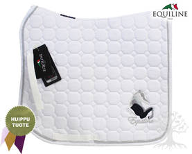 Equiline Koulusatulahuopa Octagon Fay White Pony - EQUILINE Satulahuovat - B11096DN-001 - 1