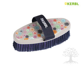 Kerbl FlowerPower Brush -harja Junior - Flower, Heart&Soul -harjat - 324081 - 1