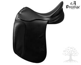 "Prestige Koulusatula Top Dressage SP D -versio 17""/33 Black - Prestige Top Dressage - 171912-SPD-1 - 1"