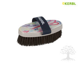 Kerbl Heart&Soul Horse Hair -harja Junior - Flower, Heart&Soul -harjat - 328282 - 1