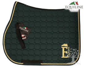 Equiline Estesatulahuopa Octagon Harris N Green Full - EQUILINE Satulahuovat - 078011062100803 - 1
