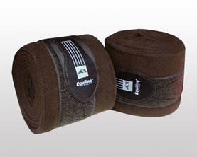 Equiline Polo Fleecepinteli 2-pakkaus Brown - Fleecepintelit - 00063 - 1