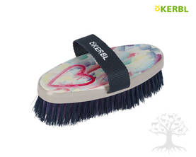 Kerbl Heart&Soul Brush -harja - Flower, Heart&Soul -harjat - 328283 - 1