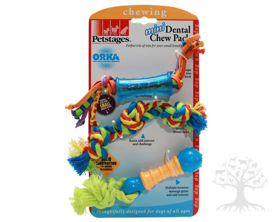 Koiran Lelusetti Mini Dental Play Pack - PETSTAGES -lelut - 864474 - 1
