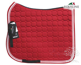 Equiline Koulusatulahuopa Octagon Katia DN Vermilion Red - EQUILINE Satulahuovat - B11107-DN-35 - 2