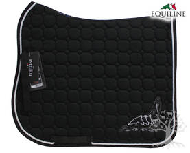 Equiline Koulusatulahuopa Octagon Pamila Black - EQUILINE Satulahuovat - B11100-006 - 1