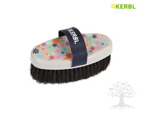 Kerbl FlowerPower Horse Hair -harja Junior - Flower, Heart&Soul -harjat - 324076 - 1