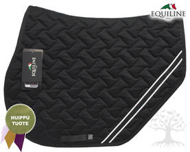 Equiline Estesatulahuopa Waffle Rudy N Black - EQUILINE Satulahuovat - B11126-006 - 1
