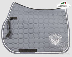 Equiline Estesatulahuopa Octagon Lux N Grey - EQUILINE Satulahuovat - B11071-001-007 - 1
