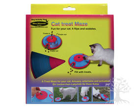 Kissan aktivointipeli Cat Treat Maze - Aktivointilelut - 734408 - 1