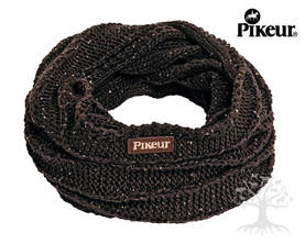 Pikeur Sequins Loop Tuubihuivi Dark Brown - Pipot, Pannat, Huivit - 544-219 - 1