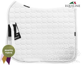 Equiline Koulusatulahuopa Octagon Clara DN White - EQUILINE Satulahuovat - B11119-DN001 - 1
