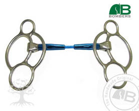 Bombers Williams 2½ -ring Snaffle Cable Nivelkuolain - Bombers Williams - 30226-SC - 1