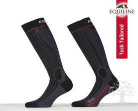 Equiline Tech-tailored Professional Saapassukka Winter Angel Black-Red - Saapassukat, Sukat - T11136-214L - 1