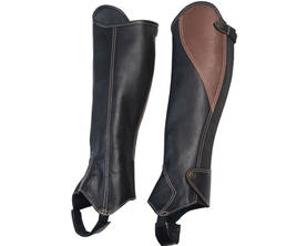 Horse Comfort Saappaanvarret Soft Black - Chapsit, saappaanvarret - 16044-HCL - 1