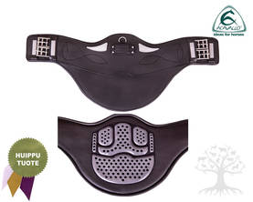 Acavallo Panssarivyö Comfort Gel W/Belly Flap Short Black - Panssarivyöt - 144341-09L - 1