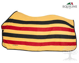 Equiline Polar Fleeceloimi Steven  Yellow/Black/Red - EQUILINE Loimet - A11070-206L - 1