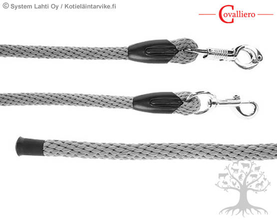 Covalliero Riimunnaru Lead Rope Liam Light Grey - Riimunnarut - 329916L - 1