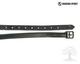 Hansbo Jalustinhihnat Classic Leatherline Black - Jalustinhihnat - 842000M - 3