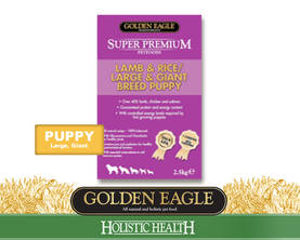 Super Premium Adult/Puppy Large&Giant Lamb - Golden Eagle - 01-GSL-420M - 2
