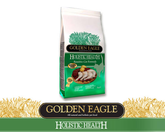 Golden Eagle Holistic Sensitive Cat VILJATON - Golden Eagle - 01-O-GFS-420M - 2