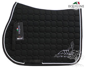 Equiline Estesatulahuopa Octagon Pamila Black - EQUILINE Satulahuovat - B11100-006N - 1