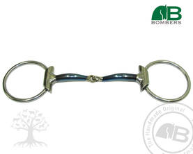Bombers Eggbutt Loose Ring Snaffle Nivelkuolain - Bombers Eggbutt Loose Ring - 30239-S - 1